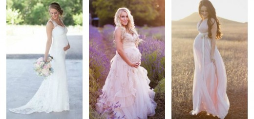 Wedding Dresses For Bridal Shower Gift Ideas Pregnant Bride