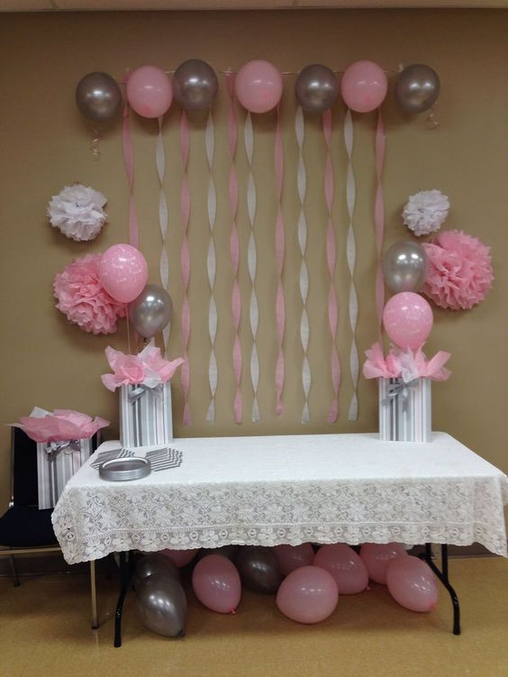 Baby Shower, Baby Shower Decoration Ideas, Inspiration