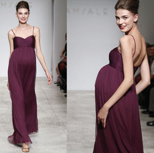 Empire Maternity Dress To Wear At A Wedding