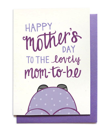 what to get a pregnant wife for mothers day mom to be card
