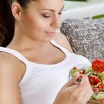 mindful eating to beat pregnancy stress
