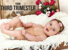 YOUR THIRD TRIMESTER TO-DO LIST