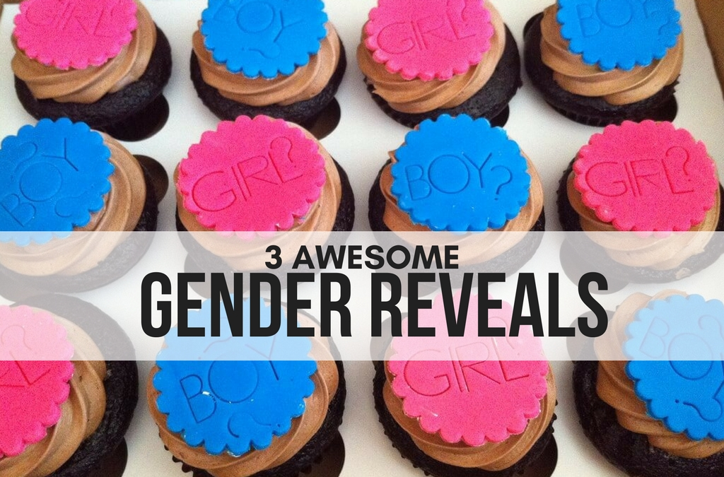 3 AWESOME GENDER REVEALS