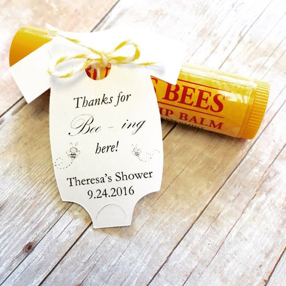 Baby Shower Favors, Thank You Cards, Favors, Burt's Bees