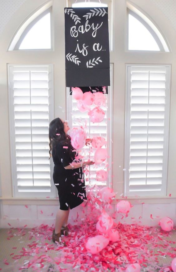 Pregnancy Announcement Ideas, Gender Reveal
