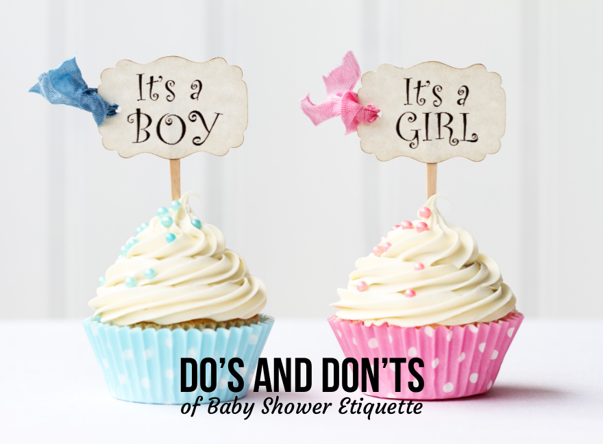 Do's And Don'ts of Baby Shower Etiquette
