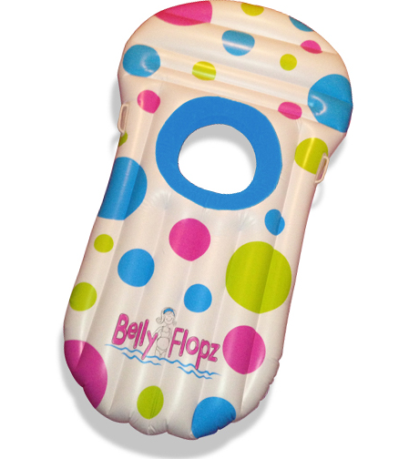 belly flopz pool float for pregnant women