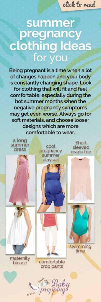 Just because you're pregnant doesn't mean you can't look for great summer pregnancy clothing ideas. Pregnancy Clothes | Pregnancy Style | Maternity Style | Pregnancy Fashion | Pregnancy Clothing Ideas | Summer Clothes #pregnancy #clothes #summer #fashion #infographic