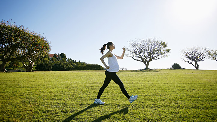 speed walking during pregnancy