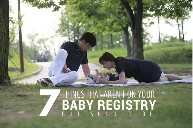 7 Things That should be on Your Baby Registry