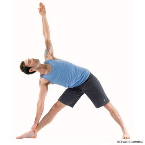 Extended Triangle Pose Utthita Trikonasana/ Side Triangle Pose