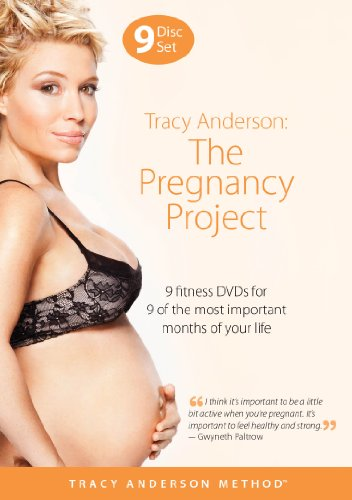 Tracy Anderson yoga during pregnancy
