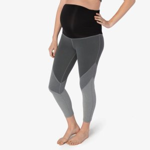 Plush Hour Maternity Capri Legging