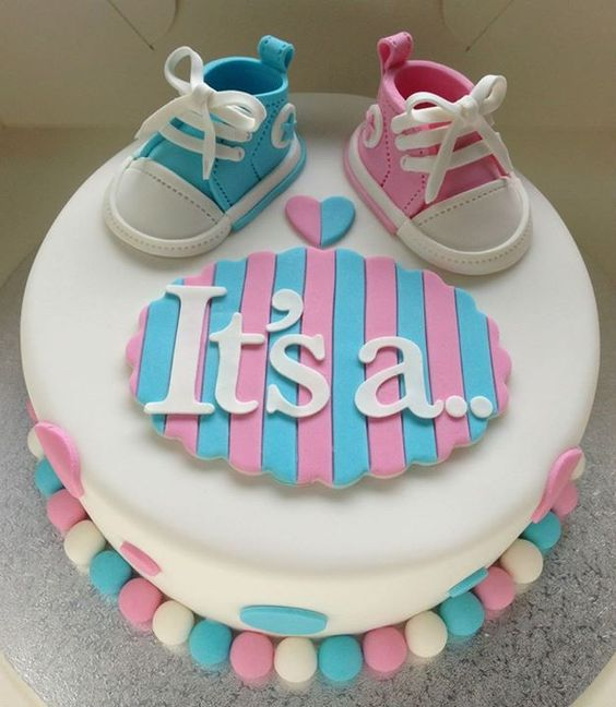 It's a… gender reveal cake gender reveal cake ideas