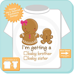 Christmas pregnancy announcement shirts