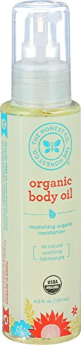 The Honest Co. Organic Body Oil for itching during pregnancy