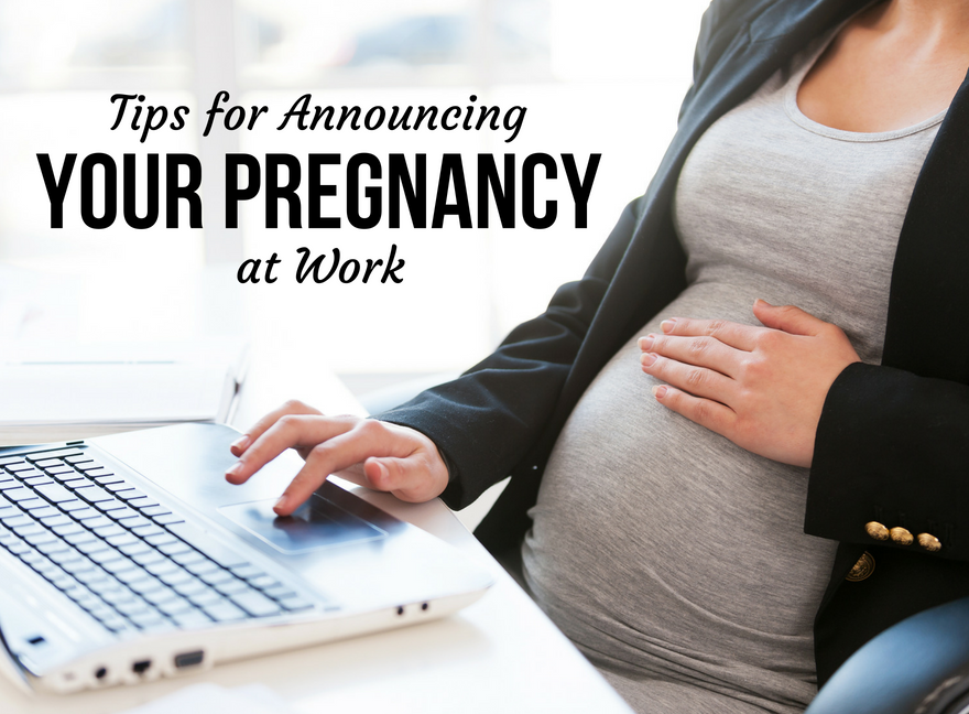Tips for Announcing Your Pregnancy at Work