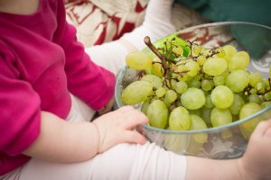 Organic food is perfect for a baby shower