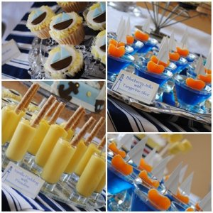 NAUTICAL BABY SHOWER FOOD