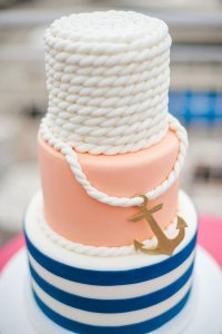 NAUTICAL BABY SHOWER CAKES