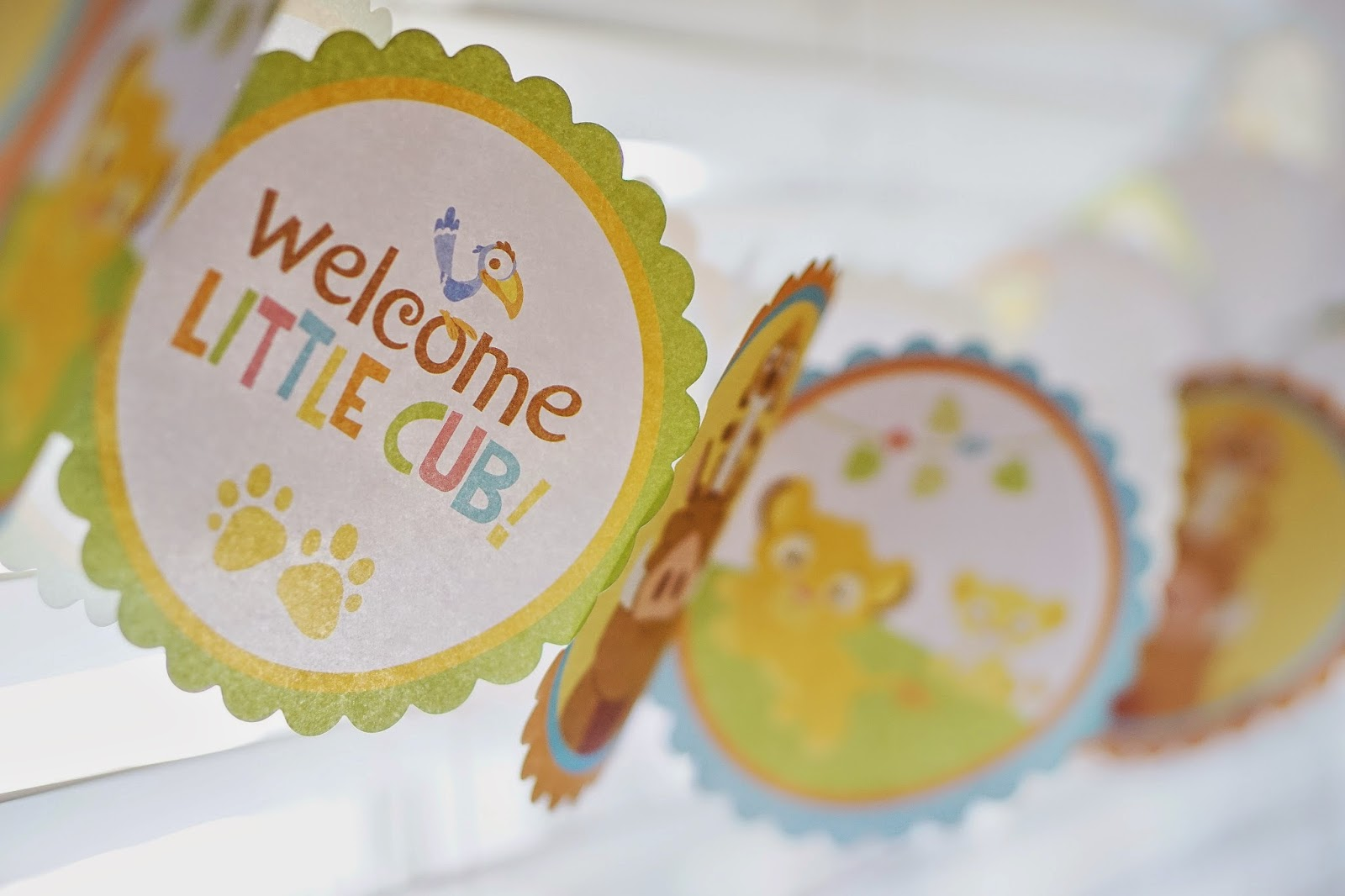celebrate the circle of life with a lion king baby shower