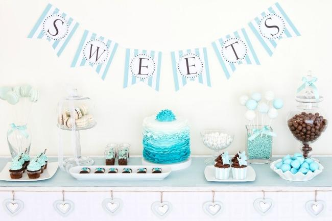 Baby Shower Etiquette, Food Table
