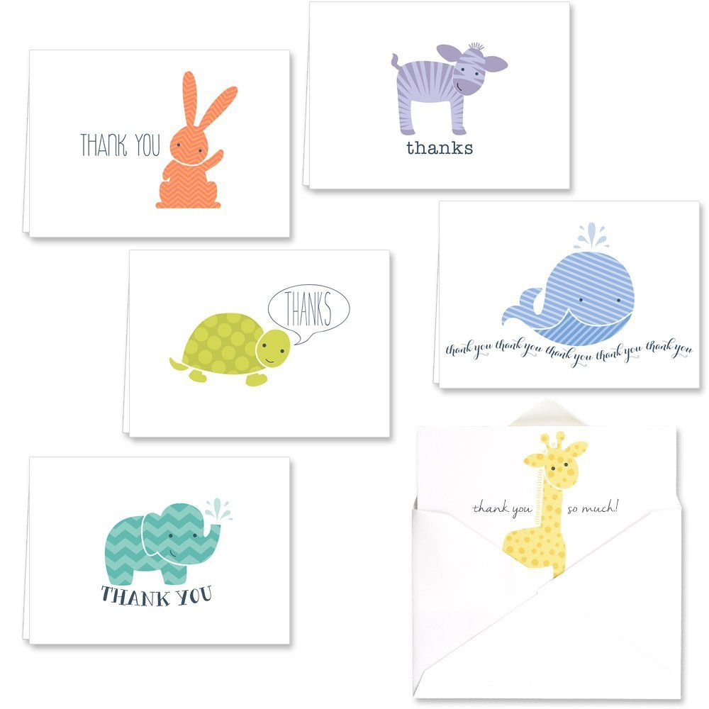 what to write in baby shower thank you card