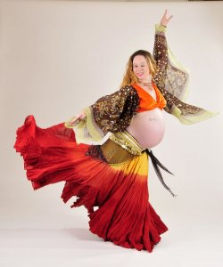 Belly Dancing Birthing Ritual