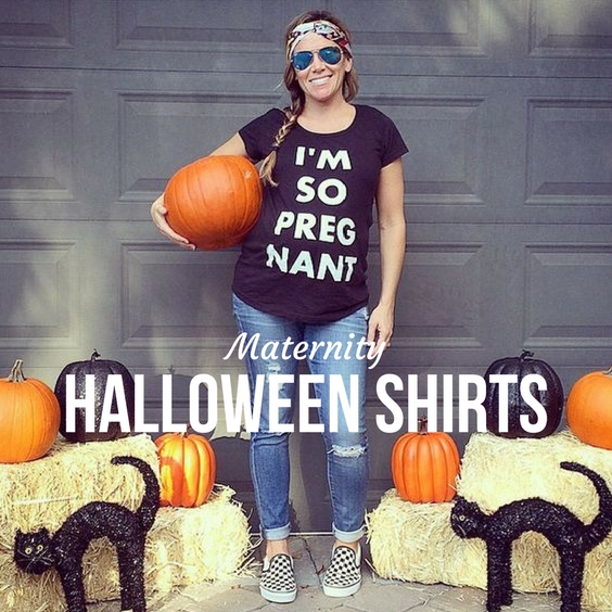 21146819e7f27 Maternity Halloween Shirts | Babyprepping.com