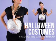 Halloween Costumes to Rock That Baby Bump with Some DIY