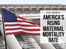 Issue Update: America's Rising Maternal Mortality Rate