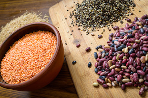 beans and lentils are delicious and healthy