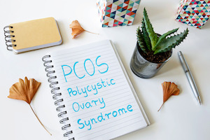 PCOS stands for Polycystic ovary syndrome